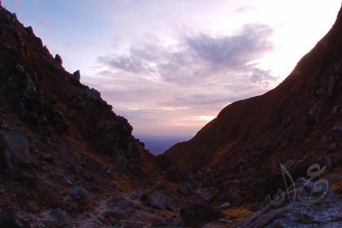 Sunrise @ Mt Sibayak, Sumatera Utara
