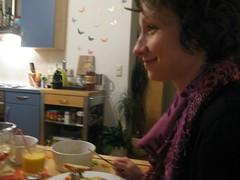 bei sylvia (rena5) Tags: food alex dinner austria sterreich essen pizza graz sylvia freunde steiermark dunja styria