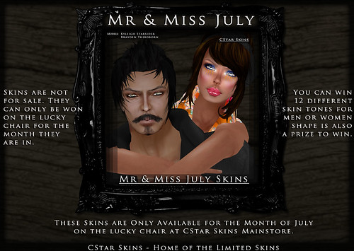 .::CStar::. Mr & Miss July Skins *Special Edition 2010*