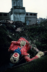 EDP (Farlakes) Tags: carnival abandoned dead factory decay clown headshot carnaval ue farlakes