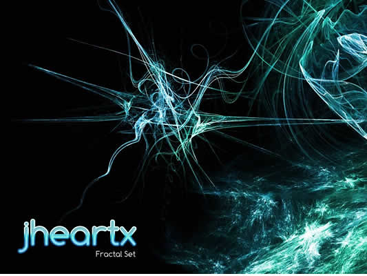 Fractal Brushes jheartx - pulse en la imagen para descargar