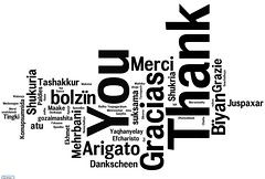 universal thank you note (woodleywonderworks) Tags: thanksgiving white black word thankyou you gracias merci note thank language languages atu arigato wordl tinki maake 20090713 dankscheen juspaxar