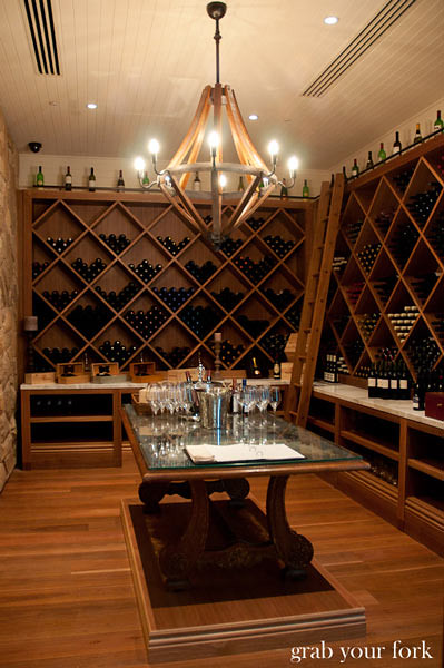 wolgan valley wine cellar