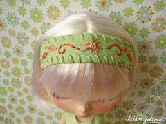 green headband