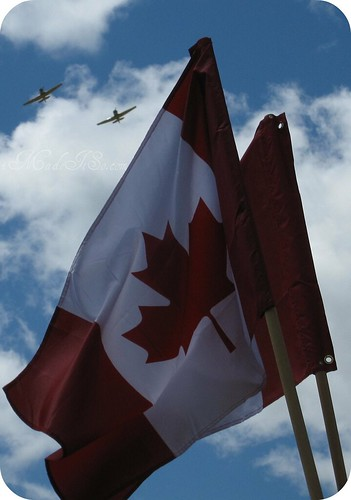 canadian flag planes