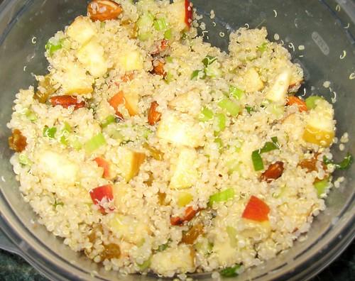 Quinoa Apple Salad Bowl @ Debbi Does Dinner