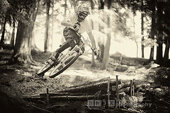 Transfer (bh3x.photography) Tags: bw sports sport photography jump action dh mtb transfer freeride oropa d700 bh3x