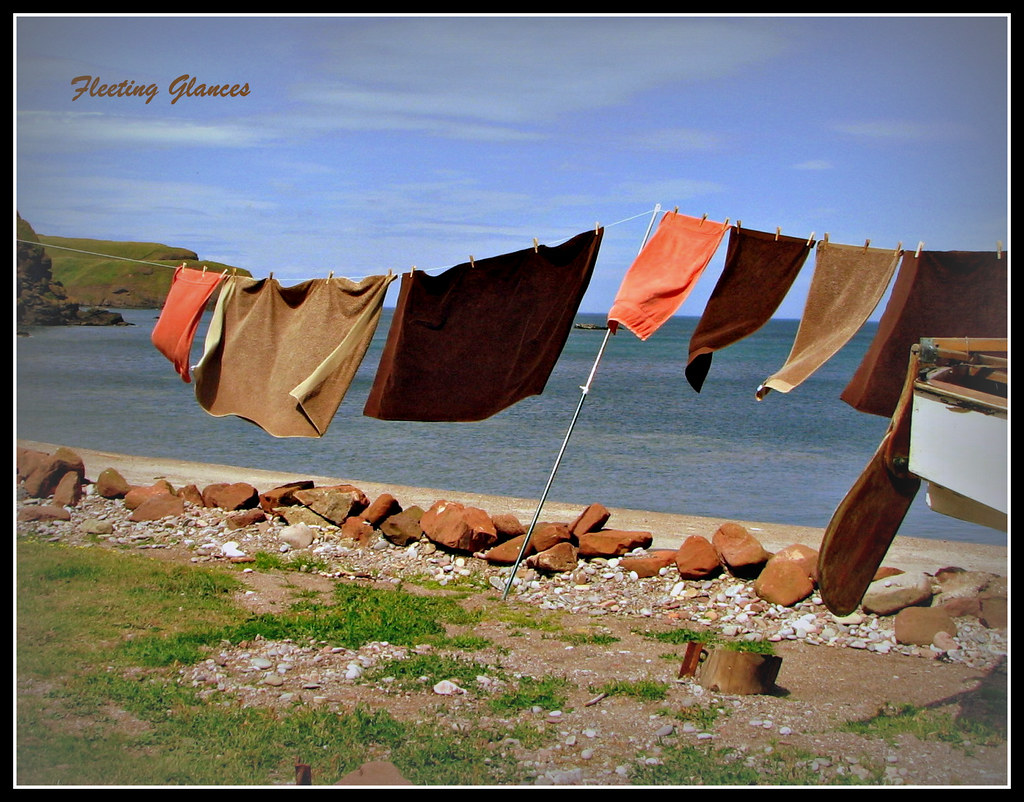 466. Monday is washing day ....