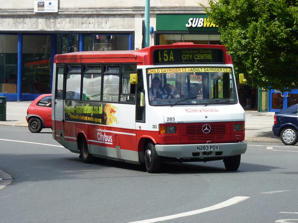 Plymouth Citybus 283 N283PDV