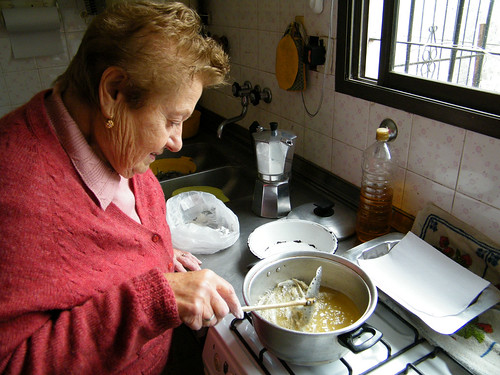 Frying up cornalitos | Friendo los cornalitos by katiemetz, on Flickr