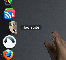Hootsuite in the dock