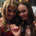 "Stefanie Scott and Madeline Carroll of "" Flipped"" with WATTO DMW chains"