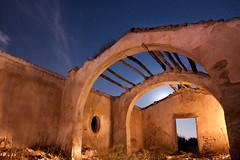 Old church (Antonio Carrillo (Ancalop)) Tags: old sky espaa art church night canon stars puerto noche spain iglesia tokina murcia cielo estrellas nocturna viejo nighshot puertolumbreras lumbreras ancalop