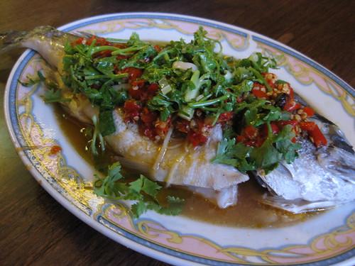 asia deli steamed fish hunan style