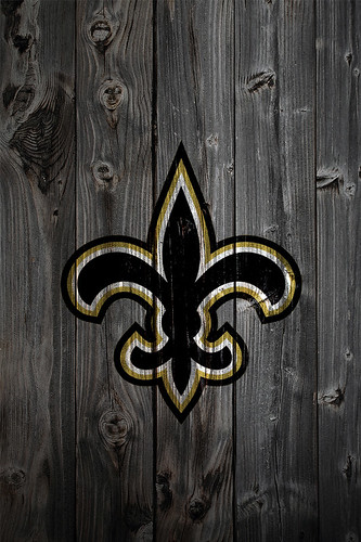 New Orleans Saints Wood IPhone 4 Background