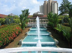 "Gardens of the Melaka (Malacca) Sultanate Palace Museum, Melaka (Malacca), Malaysia <a style=""margin-left:10px; font-size:0.8em;"" href=""http://www.flickr.com/photos/48011417@N07/4768787480/"" target=""_blank"">@flickr</a>"