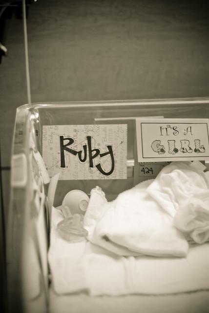 ruby crib