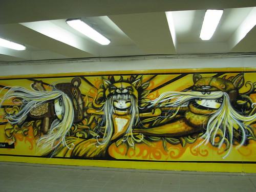 Streetart in Riga