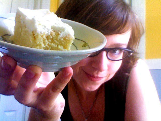 Pastel de tres leches from La Chica Bakerita