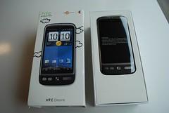 Box opened - HTC Desire