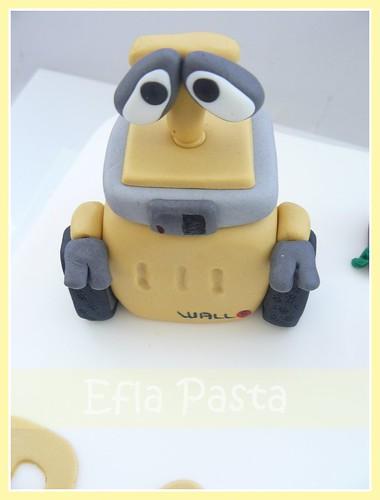 wall-e cakes