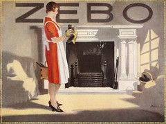 Zebo Grate Polish poster, by Barribal, for Reckitts, c1925 (mikeyashworth) Tags: barribal poster reckitts reckittofhull zebogratepolish hull 1920s zebo mikeashworthcollection