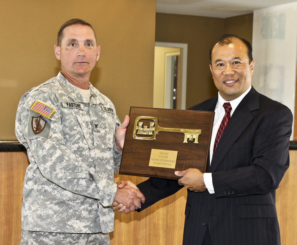 USACE turns over key to new Kelley Barracks hotel