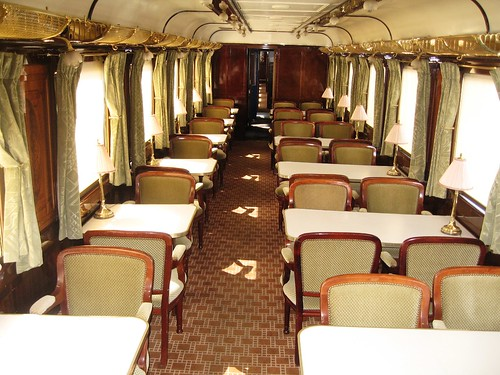 Wagons-Lits carriage (same type as Orient Express)