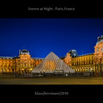 Louvre at Night - Paris, France (HDR)