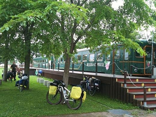 道の駅「おこっぺ」内の無料宿泊施設