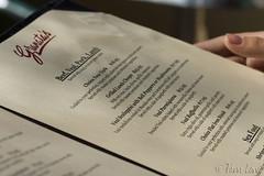 Granata's menu