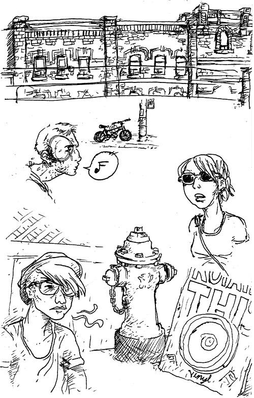 Toronto Sketches 01
