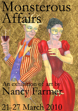 Nancy Farmer Exhibition Poster