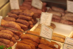 Covered Market - sausages