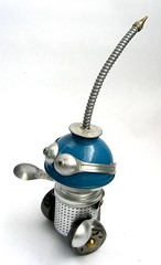 Fromund 2 0 Found Object Robot Assemblage Sculpture By Brian Marshall (adopt-a-bot) Tags: sho