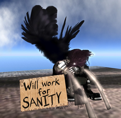 Will Work For Sanity