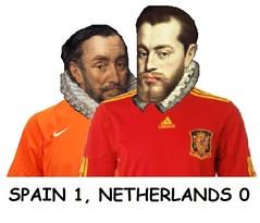 Spain 1, Netherlands 0