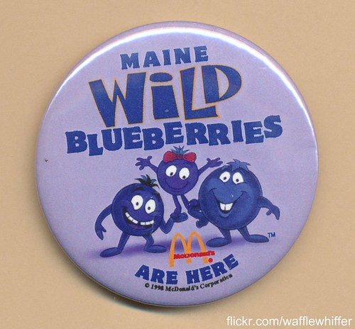 McDonald's Wild Blueberries