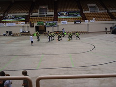 derby warm up