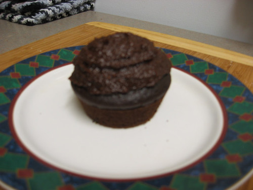 Frosted Mocha Cupcake