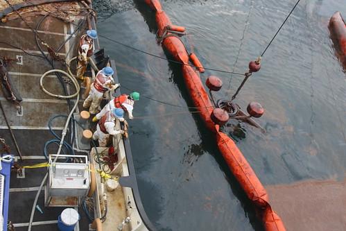 Beseitigung von Öl Pest BP US-Bundesstaat Mississippi