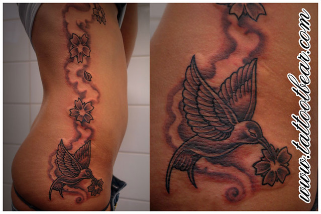 Tattoo Hummingbird - Kolibri by tattoo T-Bear