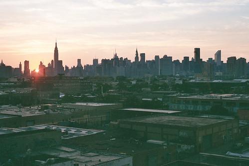 greenpoint sunset