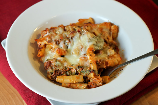 Lasagna-style Baked Ziti Recipe - Back to the Cutting Board