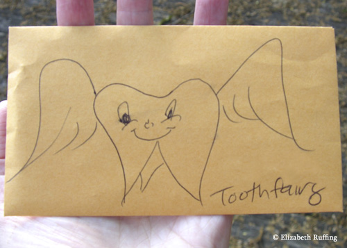 Envelope for the Kitty Tooth Fairy