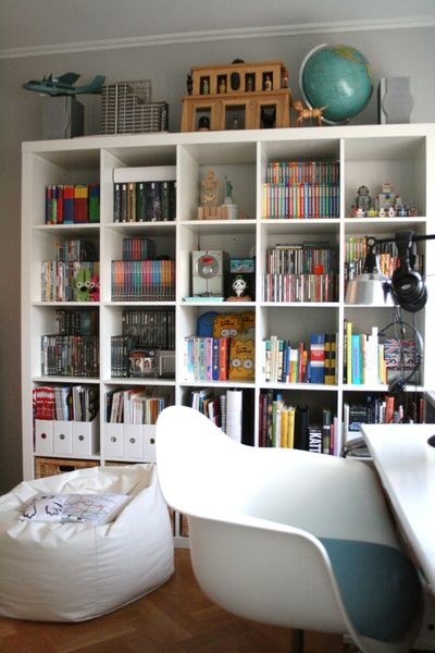 Expedit Shelf / Chez Larsson