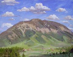 Beaver Mt, WY (alexhsch@gmail.com) Tags: portrait alex painting landscape air painter oil plein schaefer
