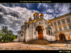 The Cathedral of the Annunciation ( ) (foje64) Tags: canon cathedral russia moscow annunciation hdr kremlin pskov moskva cathedralsquare photoshopelements russianorthodoxchurch   russianorthodox  photomatix  cathedraloftheannunciation efs1022mmf3545usm ivantheterrible moscowkremlin  canoneos500d ivanthegreat    ivanivvasilyevich  tripleniceshot mygearandmepremium mygearandmebronze mygearandmesilver mygearandmegold mygearandmeplatinum mygearandmediamond ivaniiivasilevich iii