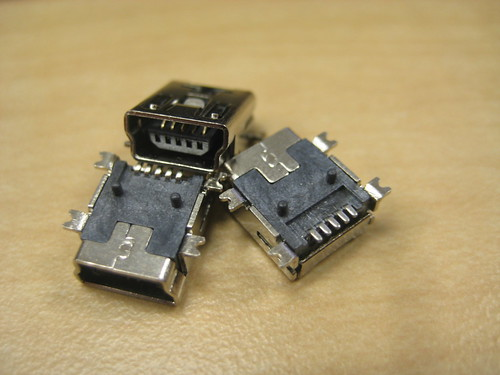 Mini USB Connectors