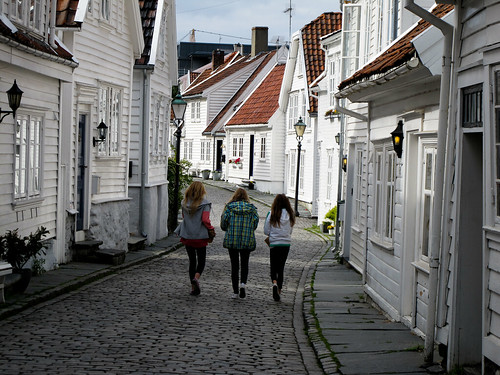 Three Girls - Stavanger, Norway